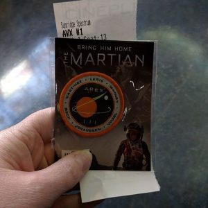 Going to see #themartian ! :-)