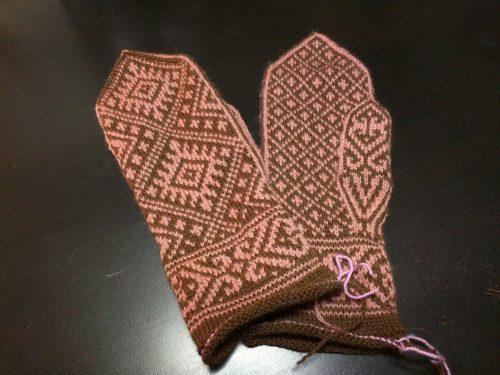 Ruba'iyat mittens